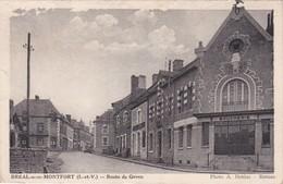 BREAL-sous-MONTFORT - Route De Goven - Boucherie - Autres Communes