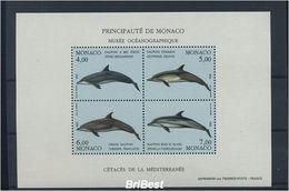 MONAKO 1992 Block FISCHE Postfrisch (85309) - Fische