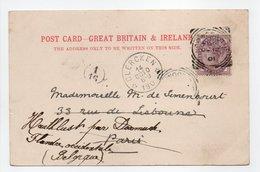 - Carte Postale LONDON (Angleterre) Pour DIXMUDE Via CLERCKEN (Belgique) 12.10.1901 - A ETUDIER - - Storia Postale