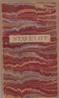 STAVELOT & Frontière Avec La Prusse Vers 1900 - Geographical Maps