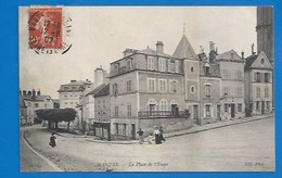 78 ++ MANTES - PLACE DE L'ÉTAPE - 1907 - Mantes La Jolie