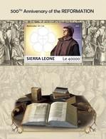 SIERRA LEONE 2017 - M. Luther, Reformation - YT CV=20 €, BF1331 - Theologen