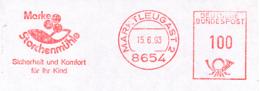Freistempel 5710 Storchenmühle Sicherheit - BRD
