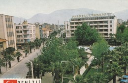 Turkey | Denizli - 1970/80 - Postcard: City Architecture-View | A View From The City. - Anadolu Bank. * - Türkei