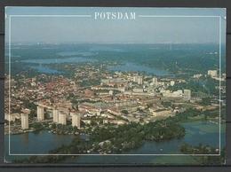 Deutschland POTSDAM Totalansicht Von Oben Sent 1996 With Stamp - Potsdam