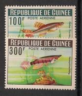 Guinée - 1964 - Poste Aérienne PA N°Yv. 38 à 39 - Poissons - Neuf Luxe ** / MNH / Postfrisch - Guinea (1958-...)