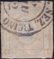 Italia   .     Yvert     .    1     .      O       .   Oblitéré    .    /   .    Cancelled - 1861-78 Victor Emmanuel II.