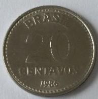 Brésil - 20 Centavos 1986 - - Brésil