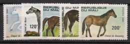 Mali - 1980 - N°Yv. 364 à 368 - Chevaux - Neuf Luxe ** / MNH / Postfrisch - Mali (1959-...)