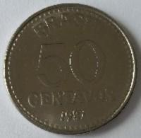 Brésil - 50 Centavos 1987 - - Brésil