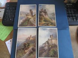 Lot De 16 Cartes D' Illustrateur ,sur Allemagne Rhénanie Du Nord Westphalie Tres Petit Prix (lot 88) - Ansichtskarten