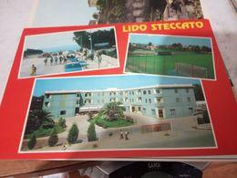 LIDO STECCATO DI CITTA DI CUTRO HOTEL  LIDO E CAMPO SPORTIVO  CALCIO N1995 HE10 - Crotone