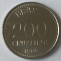 Brésil - 200 Cruzeiros 1986 - - Brésil