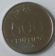 Brésil - 500 Cruzeiros 1986 - - Brésil