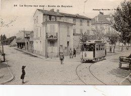 83 LA SEYNE ROUTE DE REYNIER ANIMEE TRAMWAY RESTAURANT CLICHE UNIQUE - La Seyne-sur-Mer