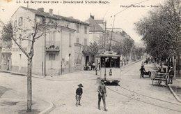 83 LA SEYNE BOULEVARD VICTOR HUGO ROUTE DE REYNIER ANIMEE TRAMWAY RESTAURANT CLICHE UNIQUE - La Seyne-sur-Mer