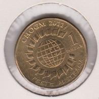 Australia 2011 CHOGM $ 1.00 Coin - Dollar