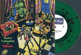 ELECTRIC FRANKENSTEIN Vs DOLLHOUSE - Split EP - 442ème RUE - Vinyl VERT - Rock