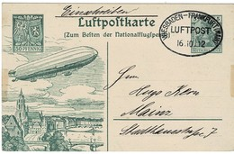 1912, GA Mit Zeppelin , Mi. 150.-     , A2257 - Germany