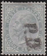Italia   .     Yvert     .   14   .     O        .   Oblitéré    .    /   .    Cancelled - 1861-78 Victor Emmanuel II.