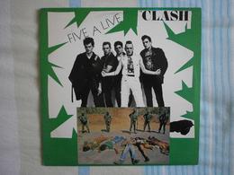 The CLASH - Five Alive - 2 LP - Punk