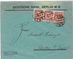 1923, 10 Pfg. (3mal) Ersttag!  , A2259 - Germania