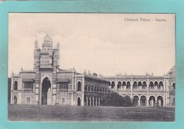 Small Old Postcard Of Chepauk Palace,Madras,Tamil Nadu, India,S9. - Inde