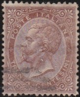 Italia   .     Yvert     .   18       .     O        .   Oblitéré    .    /   .    Cancelled - 1861-78 Victor Emmanuel II.