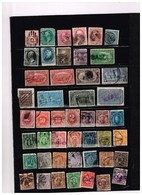 Etats-Unis Anciens Timbres à Identifier - Collections (sans Albums)
