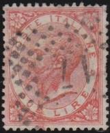 Italia   .     Yvert     .   21     .     O        .   Oblitéré    .    /   .    Cancelled - 1861-78 Victor Emmanuel II.
