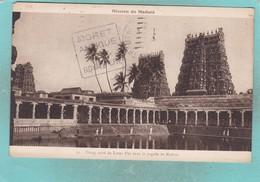Small Old Postcard Of Etang Sacre Du Lotus D`or Dans La Pagode De Madura,S9. - Inde