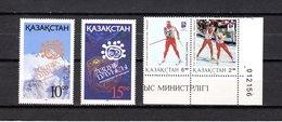 Kazakhstan   1994  .-  Y&T  Nº    30/31-33/34    ** - Kazajstán