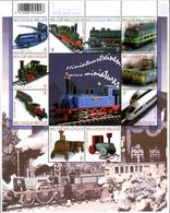 Belgique België 3938/47 Locomotives - Eisenbahnen