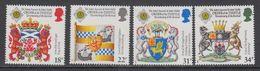Great Britain 1987 Order Of The Thistle 4v  ** Mnh (43989J) - 1952-.... (Elizabeth II)