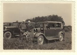 VOITURE AUTOMOBILE RENAULT PRIMA - PHOTO DE JUIN 1932 AUX 24H DU MANS PRES DU VIRAGE D'ARNAGE-8,5x6 Cms - Automobile