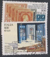 Italy Republic S 2480-2481 2000 Art 42nd Issue Museums, Used - 1946-.. République