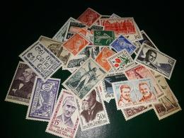 Lot 35  Timbres Neufs Avec Charnière - Briefmarken