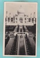 Small Old Postcard Of Taj Mahal,Agra, Uttar Pradesh, India,S9. - Inde