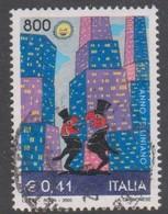 Italy Republic S 2500 2000 Fellini Film Year, Used - 1946-.. République