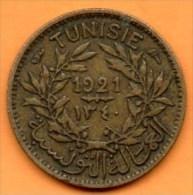 R13/  TUNISIE / TUNISA  50 CENTS 1921 - Tunisie