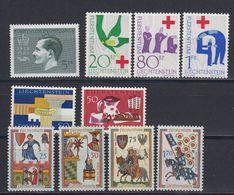 Liechtenstein 1963 Year (see Scan) ** Mnh (43990) - Liechtenstein