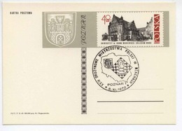 Poland 1970 Chess Nation. Championship/ Schach / Arms Wappen Occas. Cancel H308 - Ajedrez