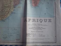 Carte Géographique Afrique - Geographical Maps