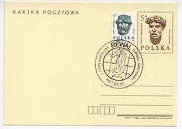 Poland 1987 Chess Nation. Tournament/ Schach / Water Horse, Wasserpferd Occas. Cancel H309 - Ajedrez