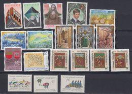 Liechtenstein 1987 Year (see Scan) ** Mnh (43991) - Liechtenstein