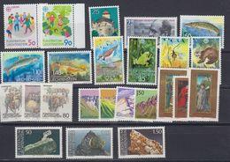 Liechtenstein 1989 Year (see Scan) ** Mnh (43992) - Liechtenstein