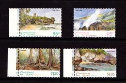CHRISTMAS  ISLAND   1993    Scenic  Views    Set  Of  4        MNH - Christmas Island