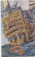 Soleil Royal - Epoque Louis XIV - Aquarelle De A. Sebille - Ed. Draeger - Bateau  Ship  Schip - Histoire