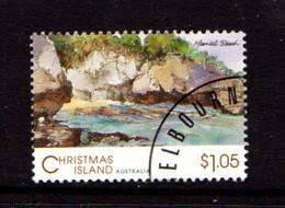 CHRISTMAS  ISLAND   1993    Scenic  Views  $1.05  Merrial  Beach    USED - Christmas Island