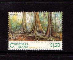 CHRISTMAS  ISLAND   1993    Scenic  Views  $1.20  Rainforest    USED - Christmas Island
